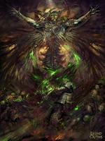 God of the fallen Soldiers by PabloFernandezArtwrk