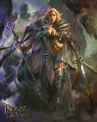 Goddess of Time by PabloFernandezArtwrk