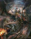 RoD: Dragon Knight by PabloFernandezArtwrk