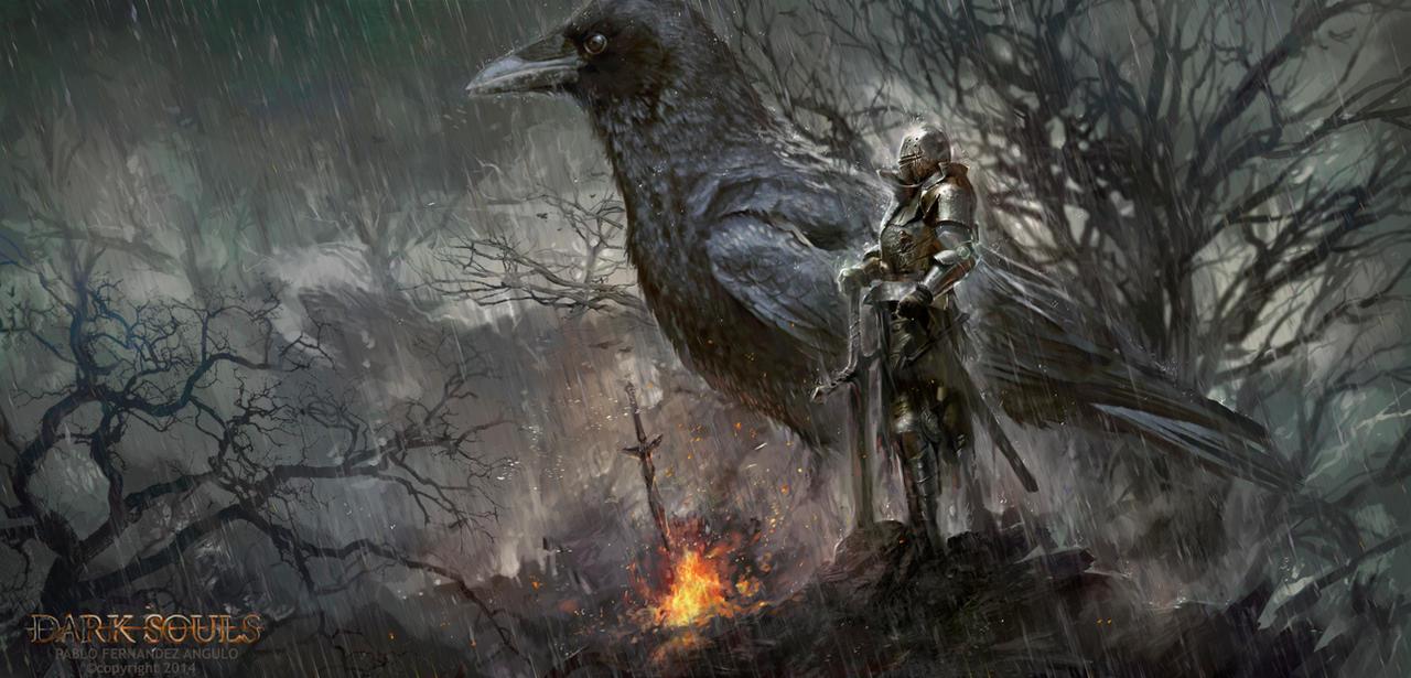Dark souls art
