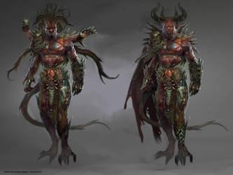 Demon Concept by PabloFernandezArtwrk