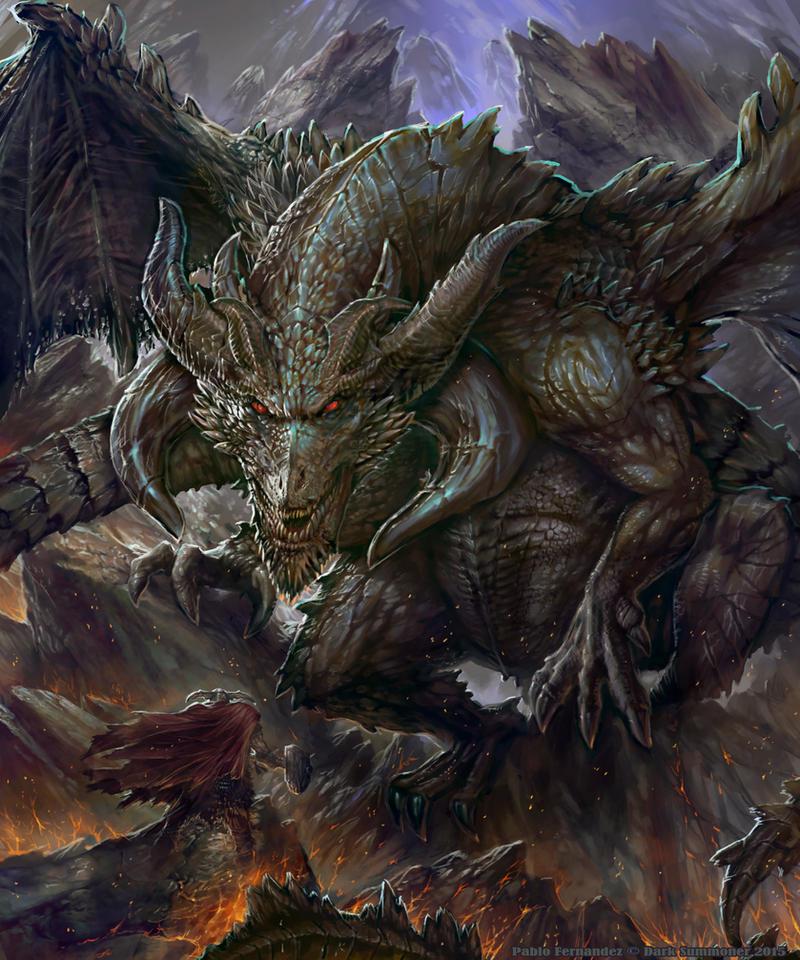 Black Dragon by PabloFernandezArtwrk