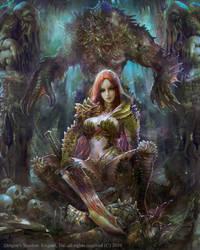 Dragons Shadow Hydra by PabloFernandezArtwrk