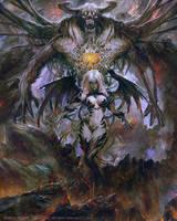 Dragons Shadow Lidea Summoning by PabloFernandezArtwrk