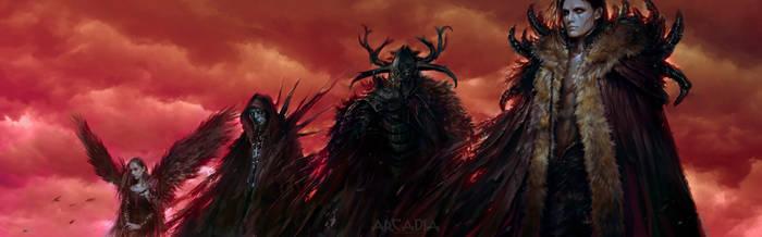 Arcadia - Apocalypse by PabloFernandezArtwrk