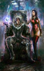 Superhero book cover #1