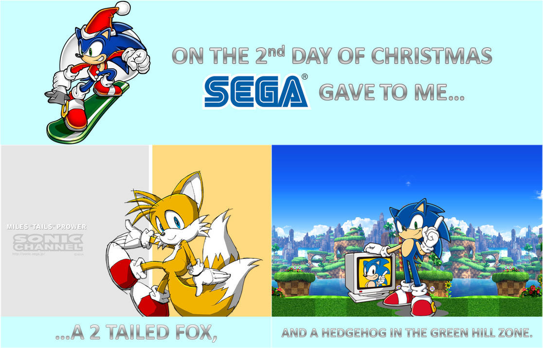 sonic 12 days of christmas day 2 by sonicspider21 - Sonic Hours Christmas Day