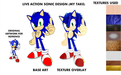 Live Action Sonic Design (My Take)