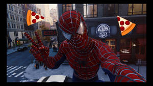 Spider-Man PS4: Pizza Time Selfie