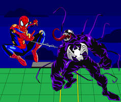 Ultimate Spider-Man vs Venom (Variant)