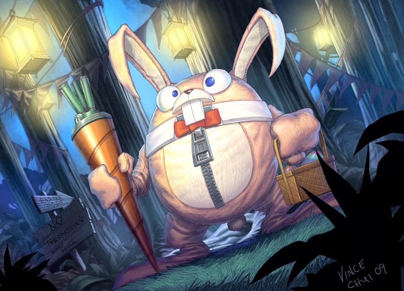 Easter Bunny by kidchuckle