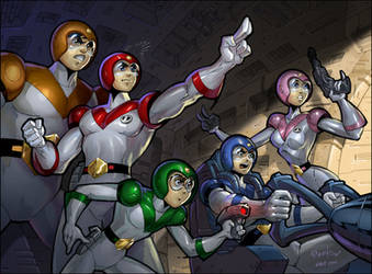 Voltron: Franchesco by kidchuckle