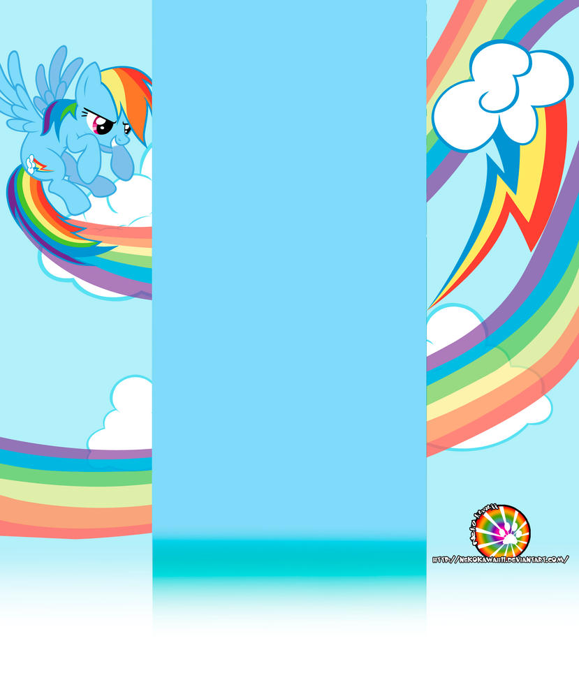 Rainbow Dash Youtube Channel by NekoKawaii11