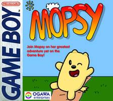 Mopsy on Game Boy - Box Art
