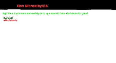 Ban Michael Byk