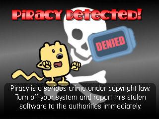 Anti-Piracy Screen - with Wubbzy