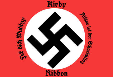 kirbyxribbon Nazi Flag