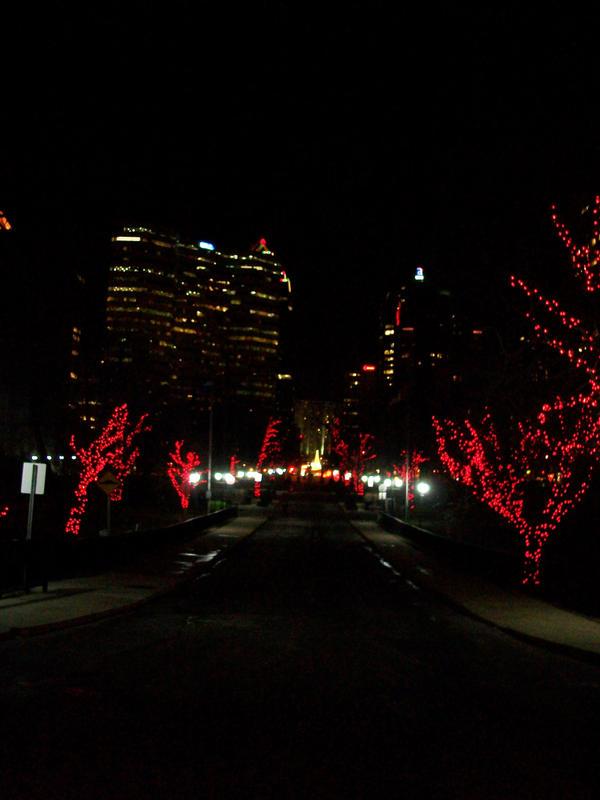 Red Silhouettes by pyrodarkangel