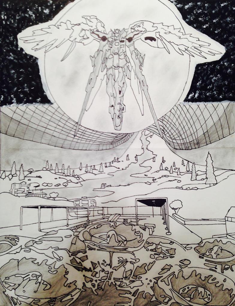 Gundam STARS ver. 1 by LieutenantDork