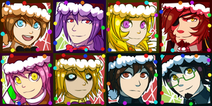 FNAF 1 Christmas Icons (2017) [CANCELED]