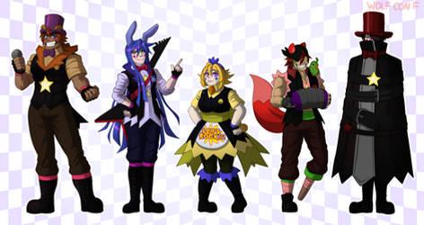 FFPS - Rockstar Animatronics by Wolf-con-f