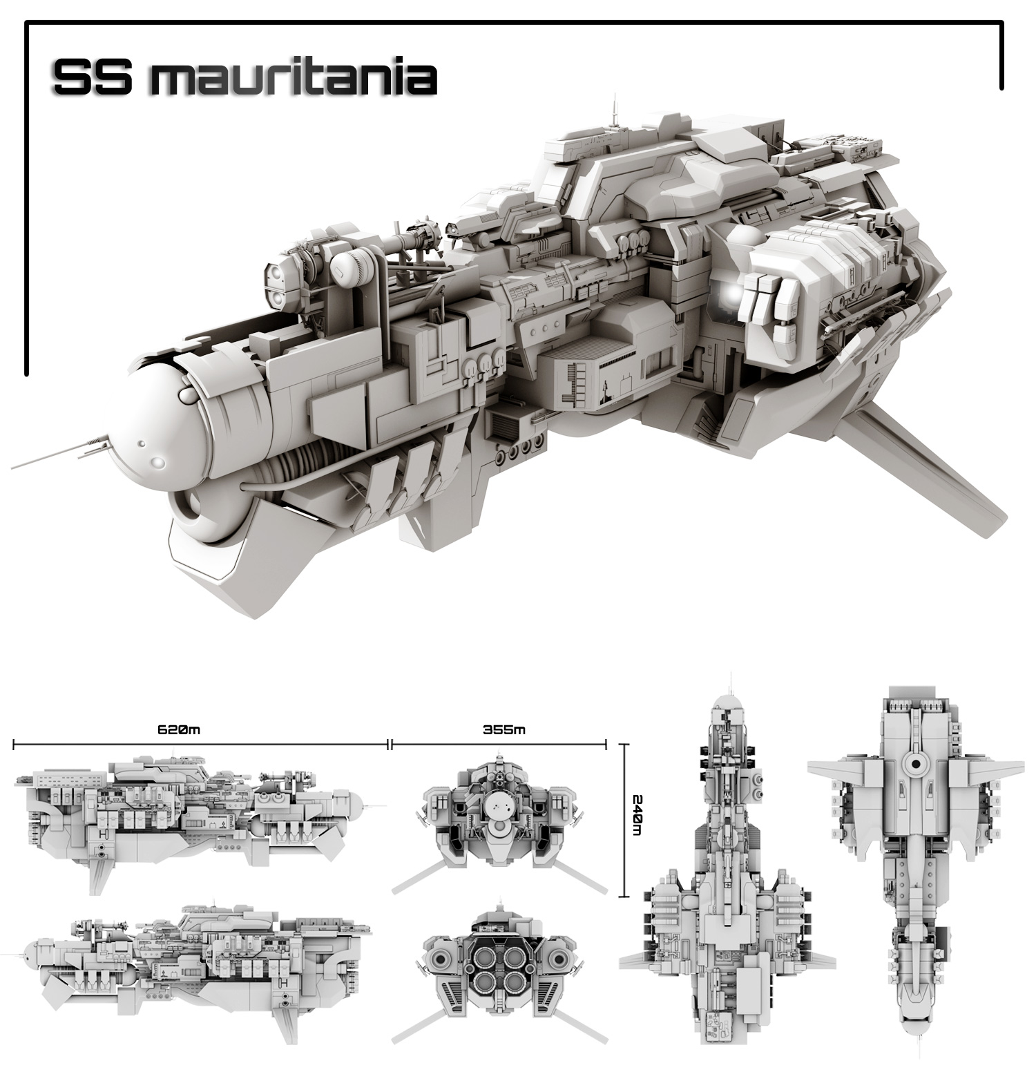 SS mauritania by Tarik2d