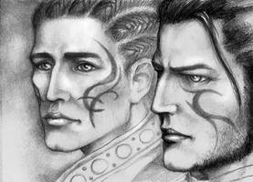 Marcus and Hardran by yuhime