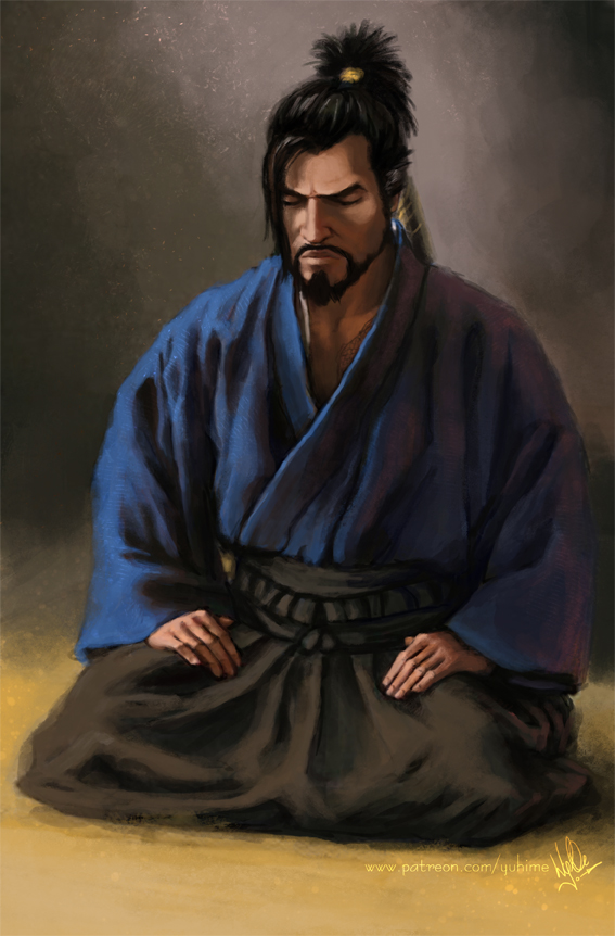 Hanzo meditating by yuhime