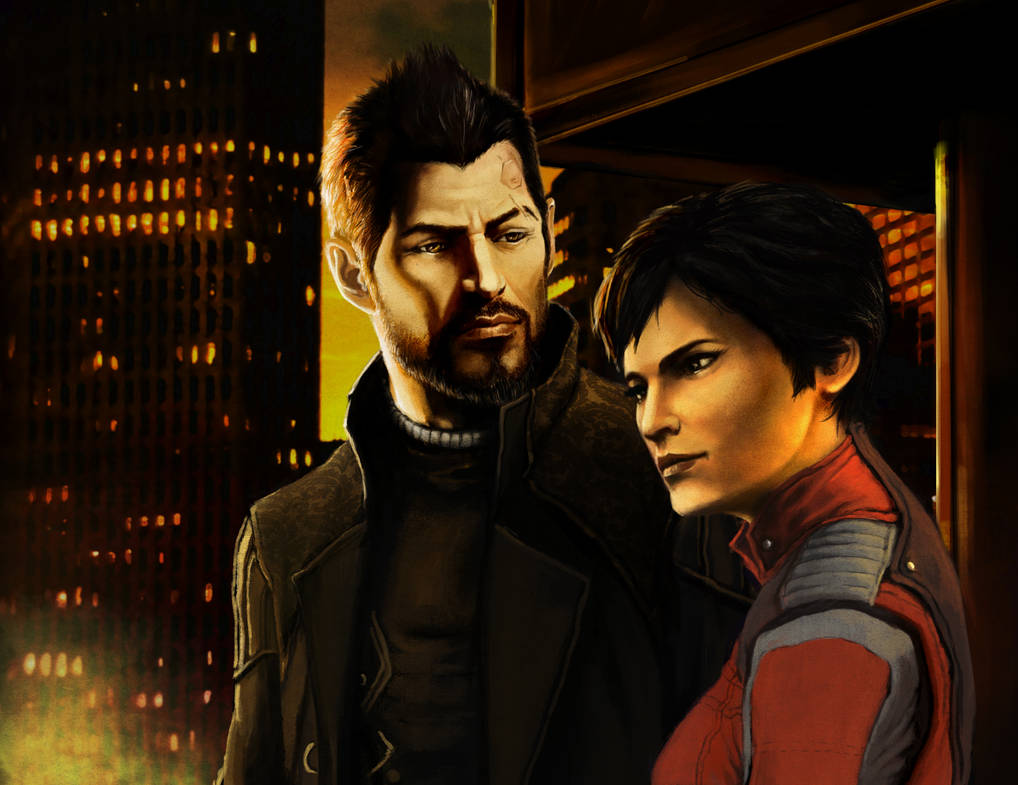 Faridah and Adam - DeusEx contest entry by yuhime