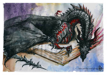 Book Dragon by yuhime