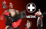 TF2 Wallpaper :: Medic [RED]