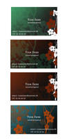 Business Cards by chakrabird
