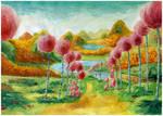 Truffula Trees Painting