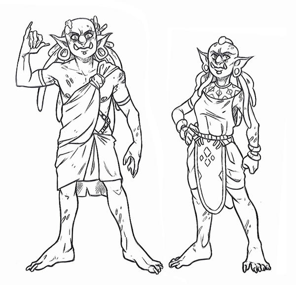 Southern Impisi (Orc Variation) by X-RedLemon-X