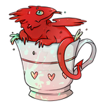 Dragon Stickers  - Welsh Tea Anyone?