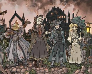 Bloodborne Commission - Full by X-RedLemon-X