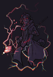 A Blood Soaked Wizard - Caleb / Critical Role