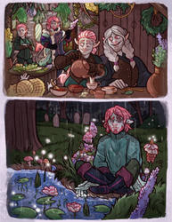 The Clay Family Reunion - Critical Role Fanart
