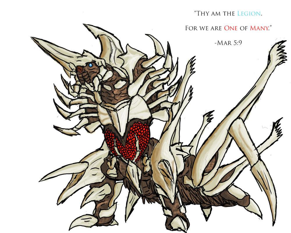 The Legion (Request for BioZillaX10) by dragokaiju2000