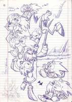 .:Sonamy -Classic Style Sketch-:. by PhoenixSAlover