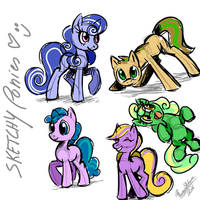 .: MLP Practice: Sketch :. by PhoenixSAlover