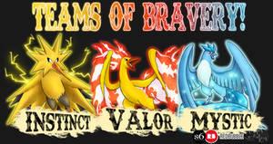 .: Team of Bravery - Pokemon Go (CLOSED) :. by PhoenixSAlover