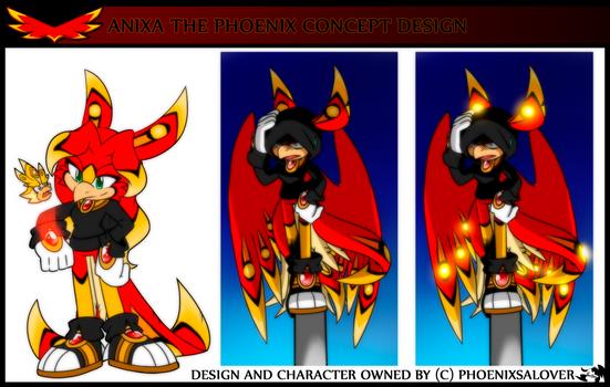 .: Anixa the Phoenix _ Redesign :.