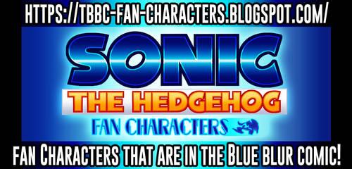 Blog - The Blueblur Fan Comic Fan Characters