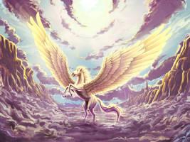 Pegasus Reborn by WhisperingSoul