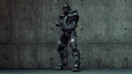 Mark III 'Avenger' Power Armor by UltraPredator01