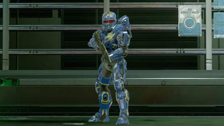 Mark V 'Umbra' Power Armor by UltraPredator01