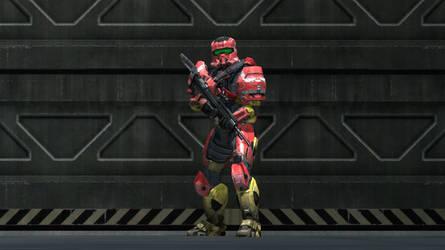 Mark II 'Legionnaire' Power Armor by UltraPredator01