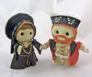 Katherine of Aragon and Henry by deridolls