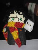 Harry Potter + Hedwig by deridolls